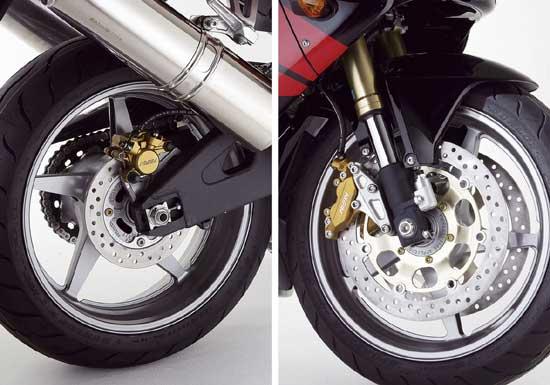 рисунки колес переднее или заднее
